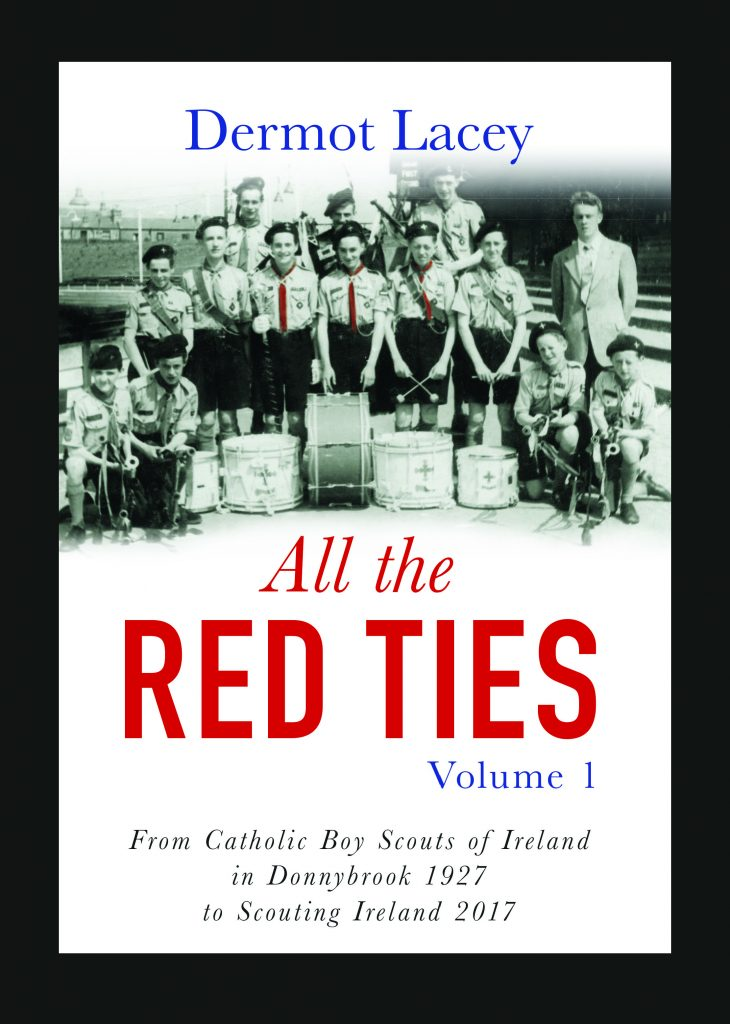 Book cover of All the Red Ties, by Dermot Lacey